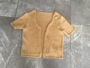third garment for yarn salvage project
