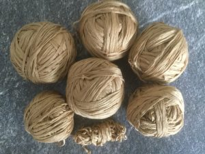 yarn salvage project - recycled yarn