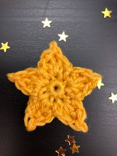 small crochet star