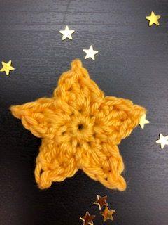 small crochet star