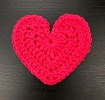 new large heart pattern