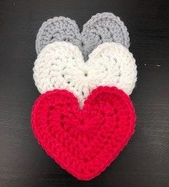 free pattern for new large heart